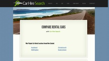 Car Hire Search