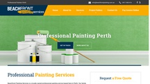 Beachfront painting services