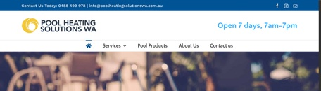 Pool Heating Solutions WA