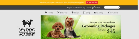 Dog Grooming & Clipping Academy