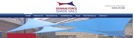 Domain Force Sun Shade Sails